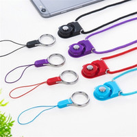 Wholesale rope online - Multi function Mobile Phone Straps Rope For Iphone X XR XS MAX Lanyard Neck Strap Phone Decoration For Samsung