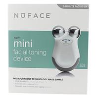 heimwerkzeugkisten großhandel-Nuface Mini Gesichtsmassagegerät Hautpflege Microcurrent Werkzeuge für Frauen Home Haut Festigkeit Gesicht Sliming Gerät versiegelte Box Weiß PINK
