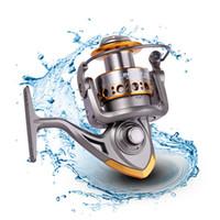 Wholesale salt water bait fish resale online - Sea Metal Ball Bearings Type Metal Spinning Fishing Reel Fly Wheel For Fresh Salt Water Sea Fishing Spinning Reel