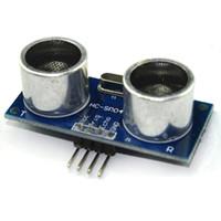 Wholesale Ultrasonic Sensor Modules - 5pcs lot Ultrasonic Module HC-SR04 HCSR04 Distance Measuring Transducer Sensor for Arduino DC 5V IO Trigger Sensor Module