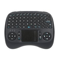 Wholesale raspberry box - Wireless Mini QWERTY Keyboard with Backlit and Mouse Touchpad KP-810-21TL for Android TV Box Raspberry HTPC Smart TV