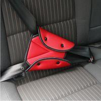 emniyet kemeri toptan satış-Araba Güvenli Fit Emniyet Kemeri Sağlam Ayar Araba Emniyet Kemeri Ayarlamak Cihaz Üçgen Bebek Çocuk Koruma Bebek Güvenliği Için Bebek (Perakende)
