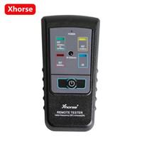 renault kann die schnittstelle anschließen großhandel-Original XHORSE Remote Tester für Radiofrequenz Infrarot-fernbedienung Tester Kann 868 MHZ