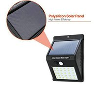 Wholesale path panel for sale - Waterproof LED Solar Panels Power Motion PIR Sensor Wall Lamp Security Wireless Path Courtyard Fence Night Light Outdoor