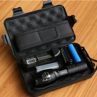 Wholesale ultrafire flashlight for sale - LED flashlight Tactical Flashlight Lumens CREE XM T6 L2 Zoomable Modes aluminum Lanterna LED Torch Flashlights For Camping