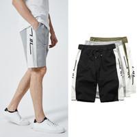 pantalones capri de algodón sueltos al por mayor-Pantalones cortos de verano de talla grande Pantalones cortos de algodón de buena calidad Capri Pantalones sueltos estilo Kanye Fashion Style Joggers