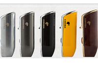 cigarette shaped lighter venda por atacado-COHIBA Isqueiros a Jato de Metal Isqueiro Forma da Boca do Petisco 3 Tocha Isqueiros de Gás Butano Liga de zinco À Prova de Vento Mais Leve