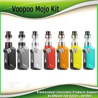 u2 batterien großhandel-Original VOOPOO MOJO Starter Kit 88W 2600mAh Batterie TC Box Mod mit 3,5ml Uforce Tank U2 Spule Vape Kit 100% Authentisch