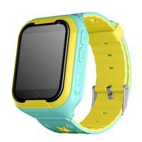 reloj infantil rojo al por mayor-Q402 Smart Watch Niños Soporte SIM 4G Red GPS Deportes Rastreador Safe Monitor Reloj de pulsera para niños Android Baby relojes a prueba de agua
