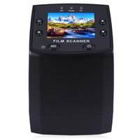35mm fotoğraflar toptan satış-EC717 5MP 35mm Negatif Film Slayt Görüntüleyici Tarayıcı USB Dijital Renkli Fotoğraf Fotokopi