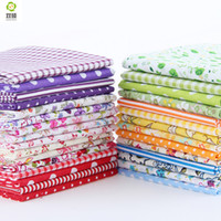 Wholesale Random Color Thin Charm Packs Patchwork Cotton Fabric No Repeat Design Tissue Sewing Fabric CM