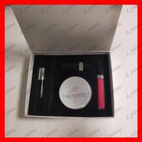 Wholesale lipstick moist resale online - Famous Brand makeup set Kollection lipstick lip gloss eyeliner pencil mascara bloom perfect moist cushion in make up kit