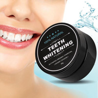 Wholesale whitening powders resale online - Teeth Whitening Powder Nature Bamboo Activated Charcoal Smile Powder Decontamination Tooth Yellow Stain Bamboo Toothpaste Oral Care