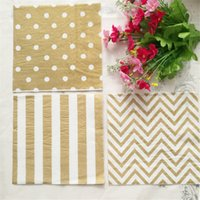 Wholesale Outdoor Wedding Supplies - 100% Virgin Wood Paper Napkin For Wedding Baby Birthday Home Decoration Supplies Outdoor Picnic Comfortable Touch