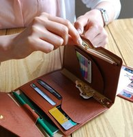 Wholesale travel document wallet leather resale online - A multi functional wallet Thin soft leather Short Passport package Travel documents bag Zero purse Card bag Men and women s purses
