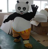 Wholesale Panda Mascots - 2018 brand new Mascot Costume clothingactory Mascot Costume Kung Fu Panda Cartoon Character Costume Adult Size Wholesale