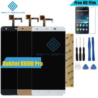 """Wholesale Mobile Lcd Touch Screen - For Original Oukitel K6000 Pro LCD in Mobile phone LCD Display+Touch Screen Digitizer Assembly lcds +Tools 5.5"""" 1920x1080P stock"""