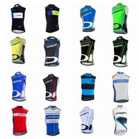 Wholesale windproof cycling vest - ORBEA team Cycling Sleeveless jersey Vest Men Windproof Breathable Sleeveless bicycle Clothing Breathable MTB Bike cycling Gilet Q42103
