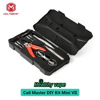 Wholesale coil master tool kit resale online - Coil Master DIY KIT MINI II Updated Coil Master Diy Kit DIY Tool Kit For Egis Original