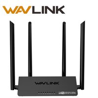ingrosso pulsanti esterni-Wavlink 300 Mbps Router WiFi wireless Smart Access Point Smart APP 4 Antenne esterne Pulsante WPS IP QoS Speed ​​2 Veloce