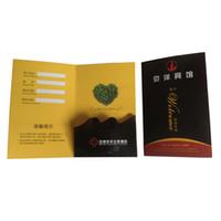 ingrosso portachiavi chiave-Titolare della carta della camera d'albergo del cliente di 1000pcs / lot, mini buste di carta del supporto di carta chiave dell'hotel