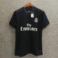 Wholesale man rm - ^_^ Wholesales 18 19 real madrid away soccer jerseys AAA quality custom name number bale 11 asensio 20 ronaldo 7 RM football shirts