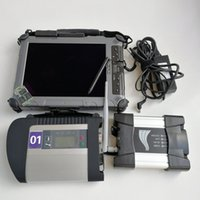 Wholesale automotive tablet for sale - Group buy expert mode Scanner Automotive Diagnosis Tool Used laptop Ixplore IX104 tablet MB star C4 SD c4 for BMW wifi icom next ssd Gb GB