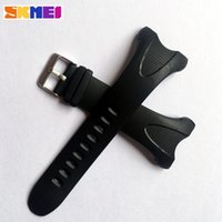 пластиковые браслеты оптовых-Skmei  Watch Strap Plastic Straps For Skmei Watches Different Model Watches 's Bands Strap Men And Women Sports Watchbands