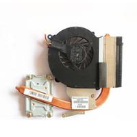 Wholesale heatsink hp - Genuine NEW Laptop Heatsink CPU Cooling Fan For HP CQ43 430 431 435 436 cpu Cooler 646180-001 DFS551005M30T