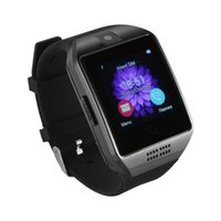Wholesale Hands Free Camera - Smart Watch Q18 NFC 1.3mp Camera Dial Hands-free Hd IPS Display Touch Screen Mp3