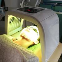 ingrosso prezzo della macchina terapeutica-2018 Prezzo 7 Colori Luce PDT LED Terapia per la pelle Acne Lentiggine Rimozione trattamento viso fotone bellezza Macchina
