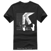 en iyi boyun tasarımları toptan satış-Gömlek Tasarım Kısa Ekip Boyun Michael Jackson Erkekler Için Ultimate Best Friend Gömlek