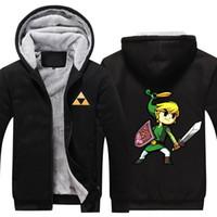 High Quality The Legend of Zelda Link 2018 Men Thicken Hoodie Women Anime Zipper Coat Jacket Sweatshirt Cosplay Costume Plus Size  sc 1 st  DHgate.com & Zelda Link Cosplay Costumes Australia   New Featured Zelda Link ...