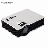 Wholesale led low cost - Cheapest Home Theater Video LCD Low Cost 800lumens Digital Cinema HDMI Portable Mini LED 3D HD home Projector