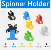modelo de juguete de plástico a mano al por mayor-Fidget Spinner Holder para varios modelos Hand Spinner Soporte Soportes de exhibición de plástico duro Soporte Kicstand Spinning Top Toy Mount DHL