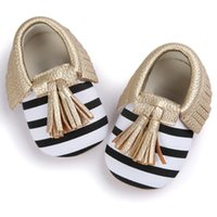 детская обувь для продажи оптовых-Low Price Loss Sale Baby Crib Tassels Bowknot Shoes Toddler Sneakers Casual Shoes Baby Toddler