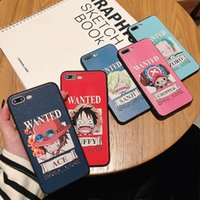 Wholesale apple chopper for sale - Group buy One Piece Luffy Zoro Chopper Ace Sanji Phone Cases Cute Cartoon Designer Soft TPU Phone Case Cover For iPhone XS MAX XR S PLUS