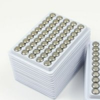 Wholesale cell battery ag13 resale online - 2018 Hot New Super quality AG13 LR44 A76 V Alkaline Button Cell Batteries