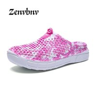 Wholesale wholesale designer sandals - ZENVBNV Women Summer Jelly Shoes Beach Sandals Women Hollow Designer Slippers Flip Flops Light Sandalias Shoes 36~41 size