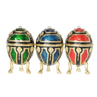 Wholesale mini easter eggs buy cheap mini easter eggs in bulk from wholesale mini easter eggs mini royal faberge egg trinket jewelry box ring holder necklace container negle Image collections