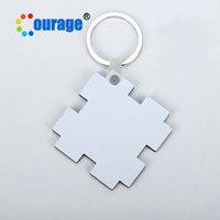 Wholesale printing photo wood wholesale online - MDF Wood Key Buckle Heat Transfer Printing Picture Coating Originality DIY Lovely Keychain Cork Material Heart Star Round kr hh