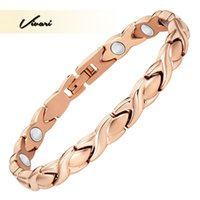 fashion magnetic therapy bracelet 2018 - Vivari Elegant Therapy Magnetic Bracelet For Women Stainless Steel Fashion Jewelry Pain Relief for Arthritis Bracelets Gifts