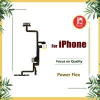 iphone 5s güç toptan satış-Güç Düğmesi Için Kapalı Flex iPhone 5 5 S 5C SE 6g 6 S 6 s Artı 7 ARTı 8 Metal Kilidi ile 8 X Ses Dilsiz Anahtarı