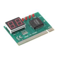 isa motherboards großhandel-Computer-Komponenten Erweiterungskarten PC PCI-Diagnosekarte Motherboard Analyzer Tester Beitrag Analyzer Checker Großhandel