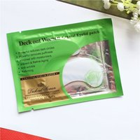 Wholesale moisturizing eye patches - 200pcs Deck Out Women Crystal Eyelid Patch Anti Wrinkle Crystal Collagen Eye Mask Remove Eye Dark Circles Moisturizing Facial Eye Masks