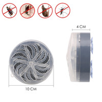 Wholesale indoor outdoor kitchens - Solar Powered Mosquito Killer Lamp Buzz UV Light Fly Insect Bug Mosquito Kill Zapper Killer For Home kitchen Indoor Outdoor