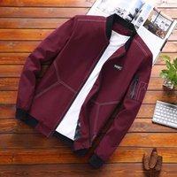 vestuário marca coreano frete grátis venda por atacado-Estados Unidos Força Aérea jaqueta piloto masculino coreano roupas de beisebol seção fina tamanho grande ferramental casaco maré marca frete grátis