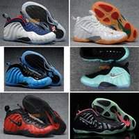 Wholesale Sound Shoes - 2018 New Men penny hardaway Basketball Shoes Cheap Gold Pro in Fleece Mens Sports Sneakers Trainers shoes 7-13
