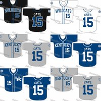 Wholesale kentucky jersey - Custom Kentucky Wildcats Baseball Jersey Women Youth Men White All Stitched Baseball Jerseys Fast Free Shipping