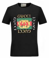 8df10ef039eb 18ss Europe et les États-Unis nouvelle tendance de la mode impression  T-shirt veste décontractée T-shirt à manches courtes